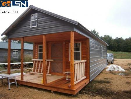 Cabin Home Metal Siding In Columbia Tn Cabins