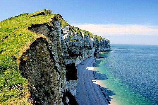 les falaises d'Etretat - France