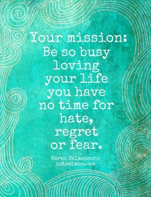 Mission in life
