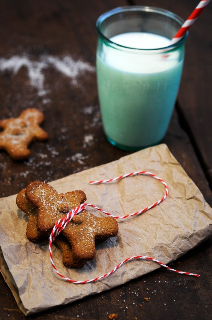 """Gluten Free Gingerbread Men via this blog, """"The Delicious Philosophy""""."""