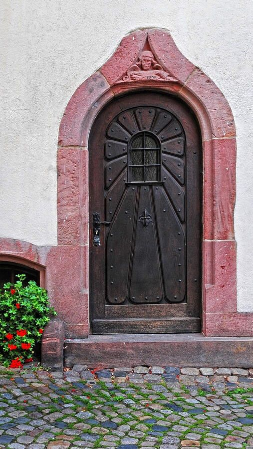 Door, Alsace, France