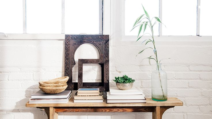 Simple, earthy side table styling. // City Guide to Marrakech from Project Bly and Caitlin Flemming. // #Design #Morocco #Travel