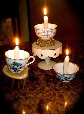 Repurposed teacups | tea cups | Pinterest