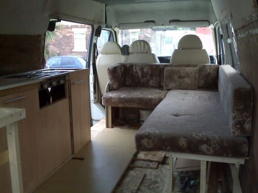 How To Build A Camper From A Panel Van