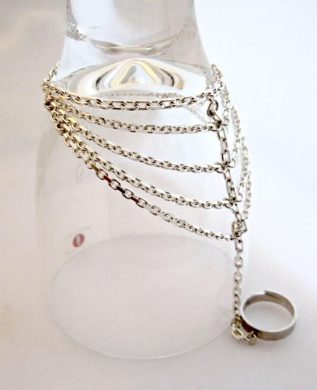 Sterling Silver Slave Bracelets