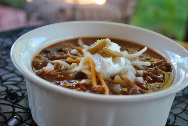 my kaotic kitchen: quick and easy chili | Food. Yummy, word. | Pinter ...