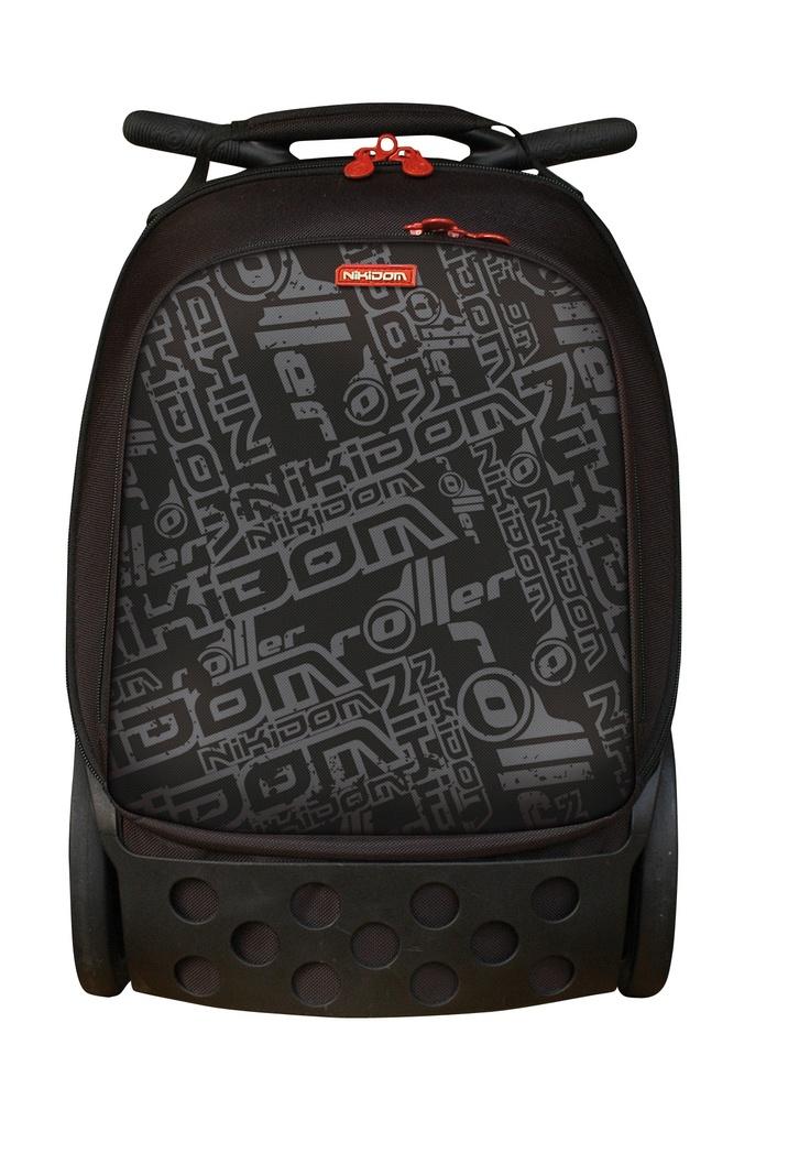 Bags with school logo - Roller Basic Logo Nikidom Roller Ergonomic Trolley School