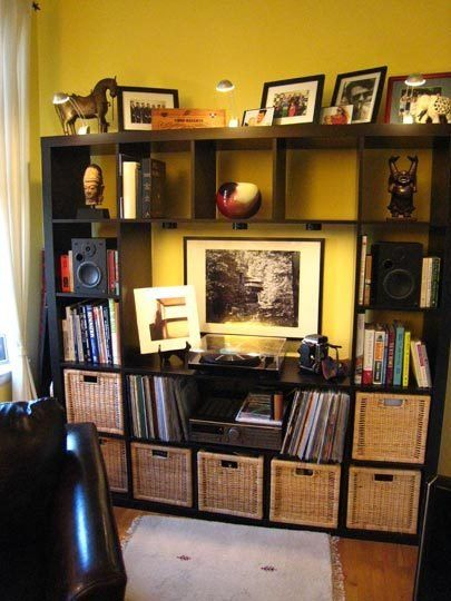 Expedit Ikea Entertainment Center ~ The Ever Versatile IKEA Expedit, maybe as an entertainment center in