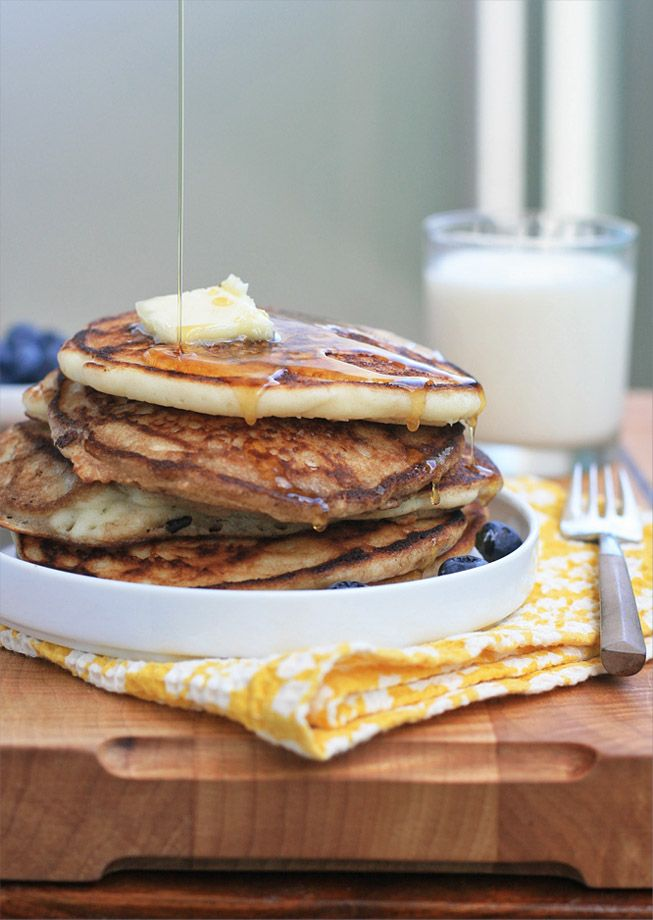 Gluten-Free Buttermilk Pancakes | Breakfast Recipes | Pinterest
