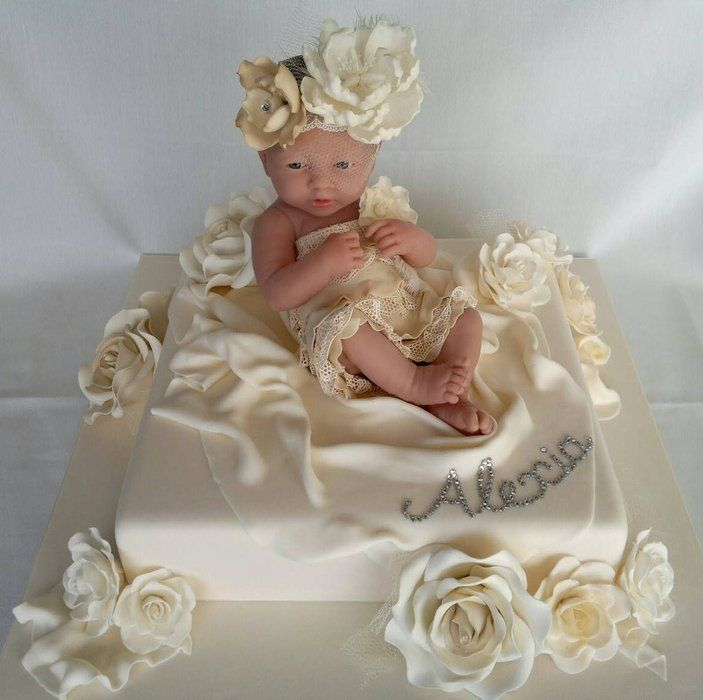 Doll Cake Designs For Baby Girl : baby doll cake...beautiful~!~! baby shower Pinterest