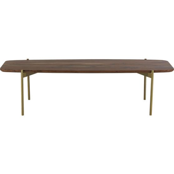 Adam Coffee Table In Accent Tables CB2 Townhome Loving