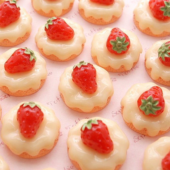 Strawberries And Cream Biscuits Recipe — Dishmaps