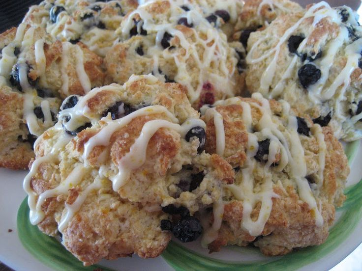 Low Fat Blueberry Scones | SCONES and MUFFINS | Pinterest