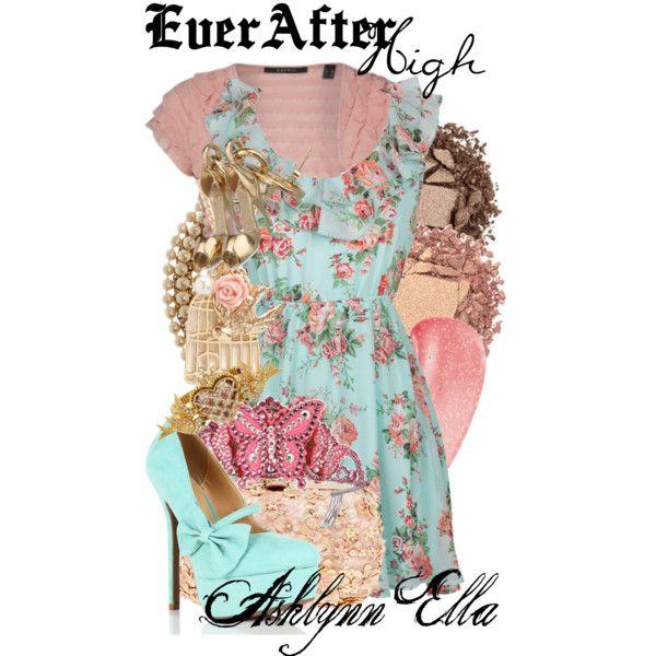 """Ever After High : Ashlynn Ella"" by missm26 on Polyvore"