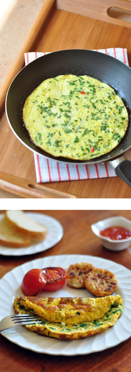 indian omelet | Makes my belly happy... | Pinterest