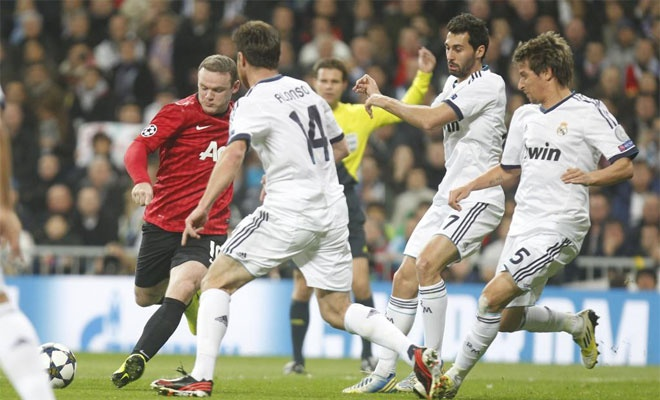 man united real madrid champions cup