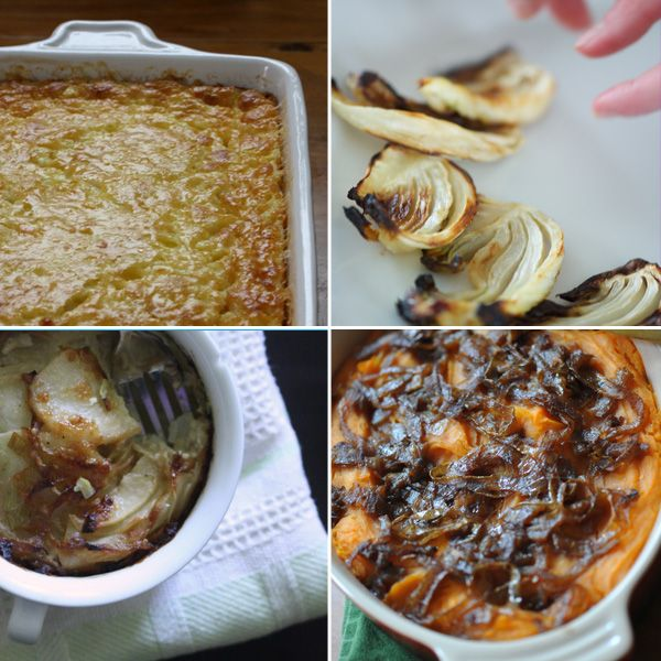 ... Potato Leek and Fennel Gratin, Semi Sweet Potato Mash with Spiced