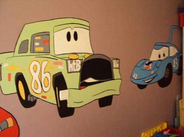 Slaapkamer cars  selfmade  Pinterest