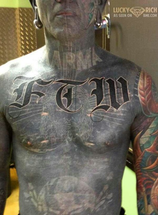 Lucky diamond rich tattoos and body mods pinterest for Ftw tattoo meaning