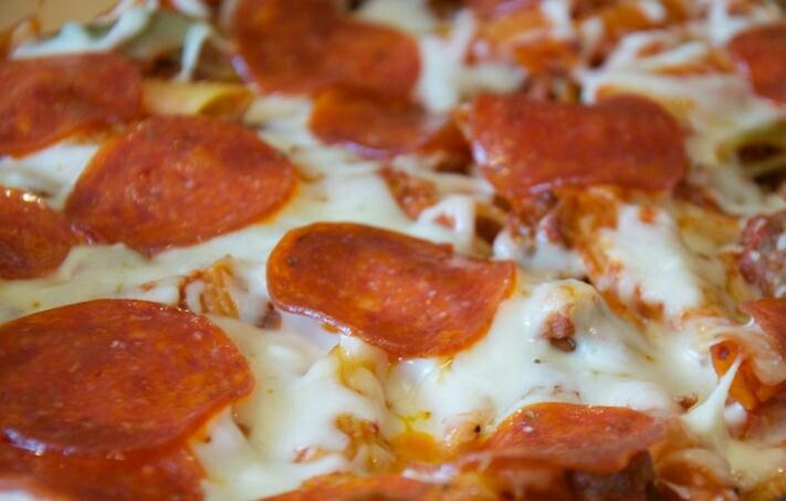 Pepperoni casserole | food! | Pinterest
