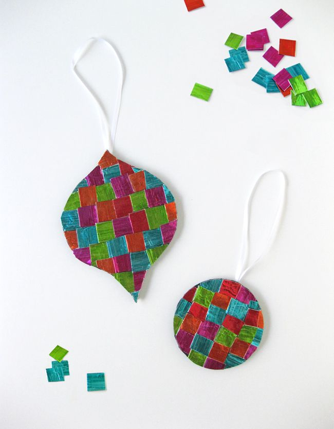christmas ornament for kids to make tissue paper creations pinter