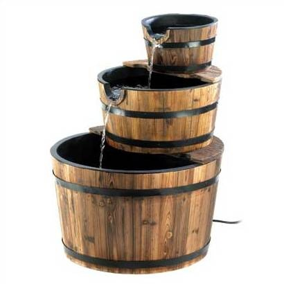 Apple Barrel Wooden Water Fountain My Style Pinterest