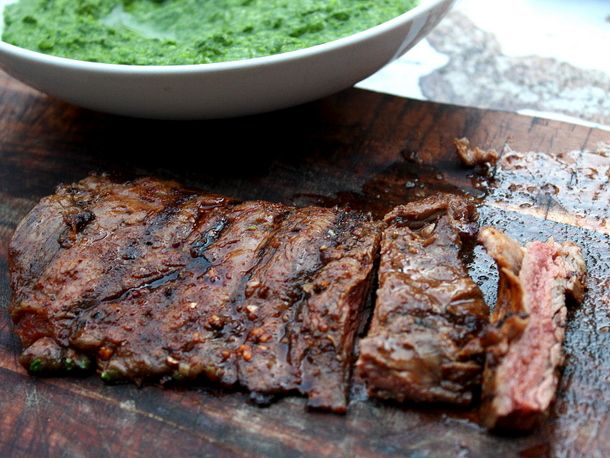 Spice-Rubbed Grilled Skirt Steak - A rub of cumin, ancho chile powder ...