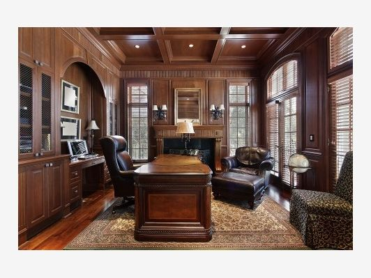 Pin by home and garden design ideas on home office pinterest for Luxury garden office