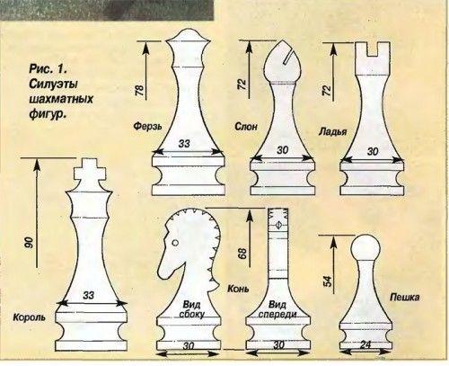 Сделать шахматы из дерева своими руками 53