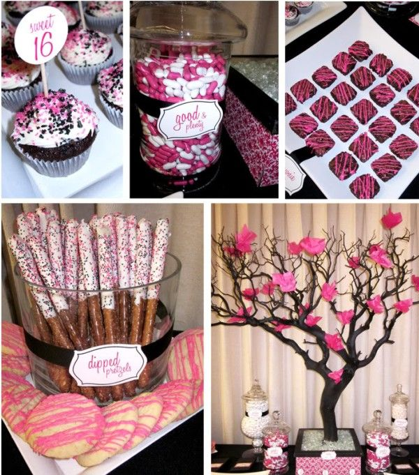 Sweet 16th birthday ideas random stuff pinterest for 16th birthday decoration ideas