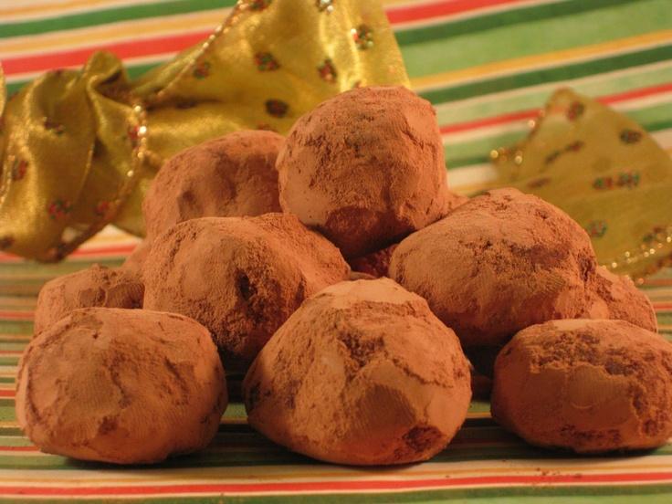 Balsamic Chocolate Truffles | Christmas Food | Pinterest