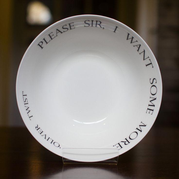 Oliver Twist bowl. Hilarious. | - 35.5KB