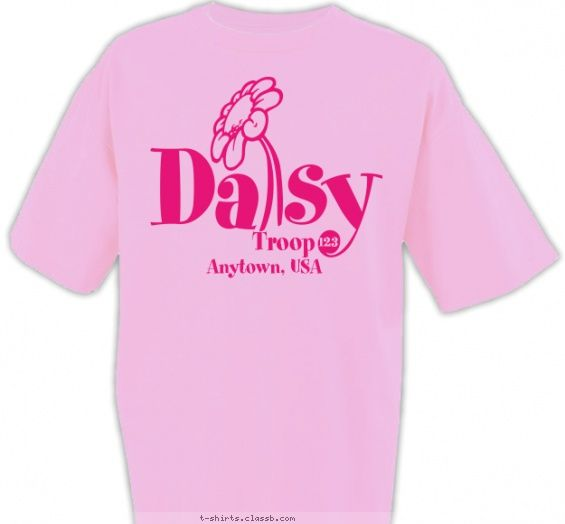 daisy troop t shirt design uniforms pinterest