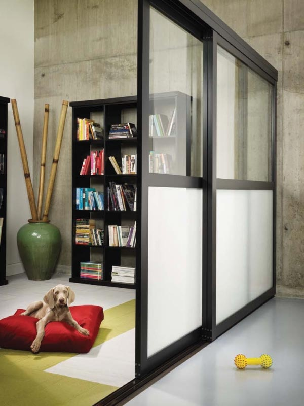 go all the way to the ceiling room dividers to separately office
