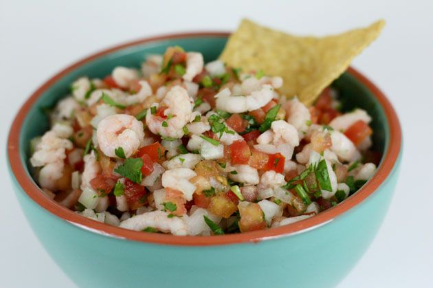 Ceviche! I had it for lunch and want to for every day ...
