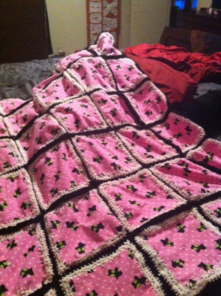Crocheting Quilts : Crochet quilt super easy!! Crochet: Quilt Pinterest