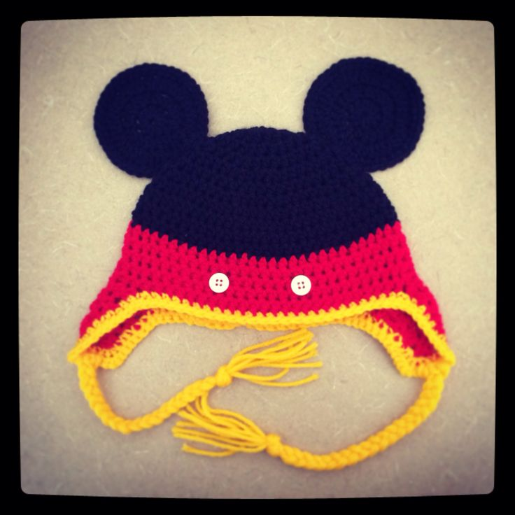 Free Crochet Pattern For Mouse Hat Dancox For