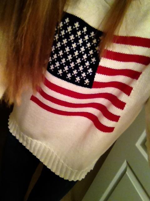 oversized american flag