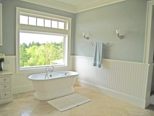 Bathroom Beadboard Home Ideas Windows Pinterest