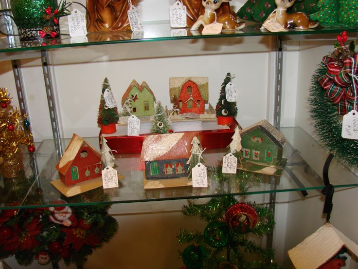 Some vintage christmas decorations chirstmas pinterest for Pinterest christmas decorations for the home
