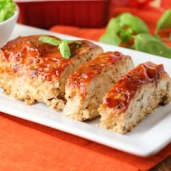 Comfort Food at its Best! Italian Turkey Meatloaf with Basil ...