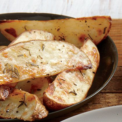 Roasted Potato Wedges by Cooking Light | Recipes to Try | Pinterest