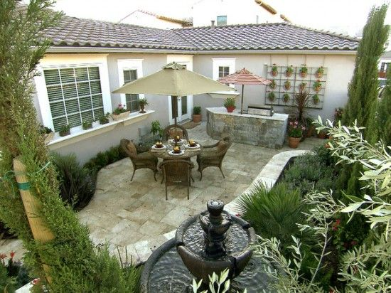 Tuscan Inspired Backyard Patio Pictures : Outdoor patio and bargrill  Remodel Ideas  Pinterest