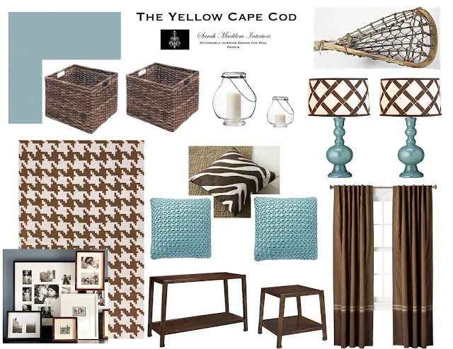 Aqua and brown living room home and decorating ideas pinterest