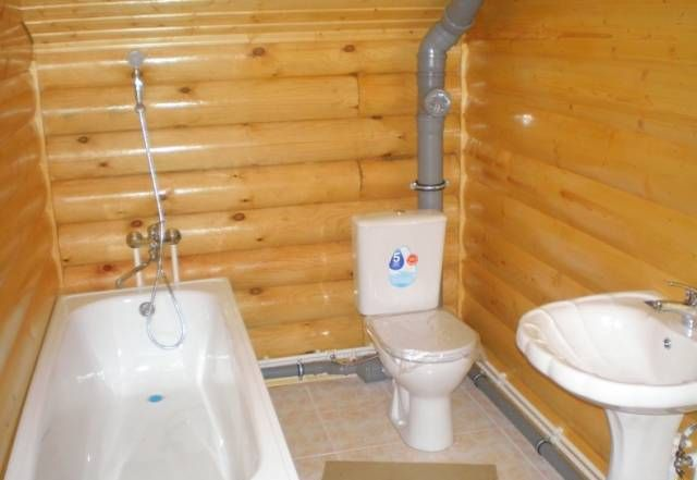Ванна и туалет в частном доме своими руками