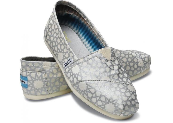 Silver Morocco Toms