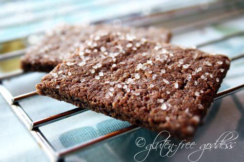 gluten free pecan crackers! | Gluten Free Recipes | Pinterest