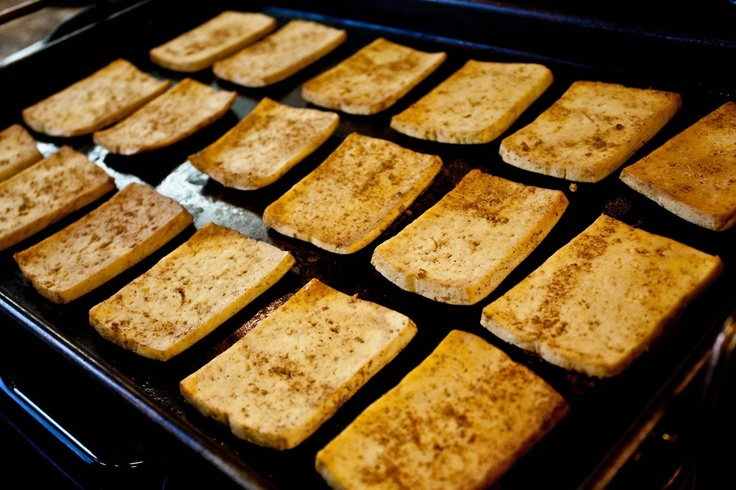 broiled spicy tofu | Healthy & Light Recipes | Pinterest