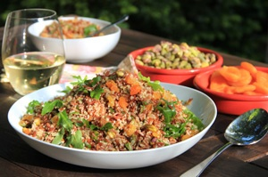 Yotam Ottolenghi's Red Rice and Quinoa Salad