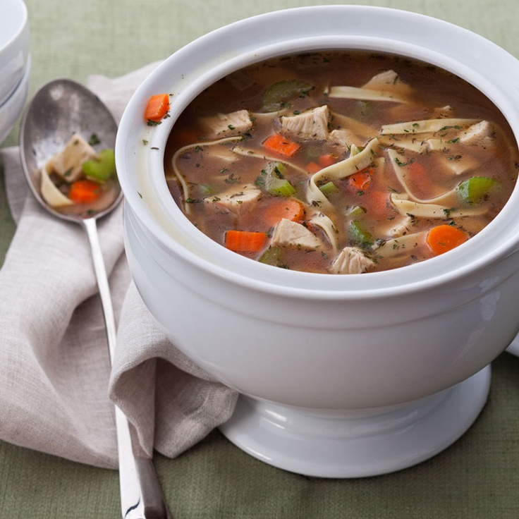 Leftover Turkey Noodle Soup | Soups and Stews | Pinterest